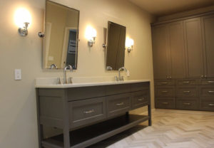 bathroom cabinetry Rainier Cabinetry and Design