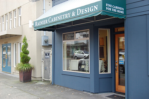 exterior of Rainier Cabinetry & Design