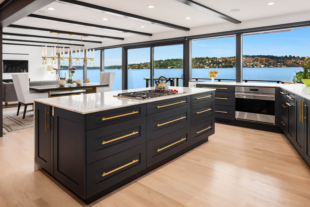 Contemporary Kitchens Rainier Cabinetry Design